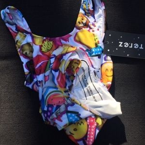 Zara Terez Swim Girls Emoji Suit Poshmark